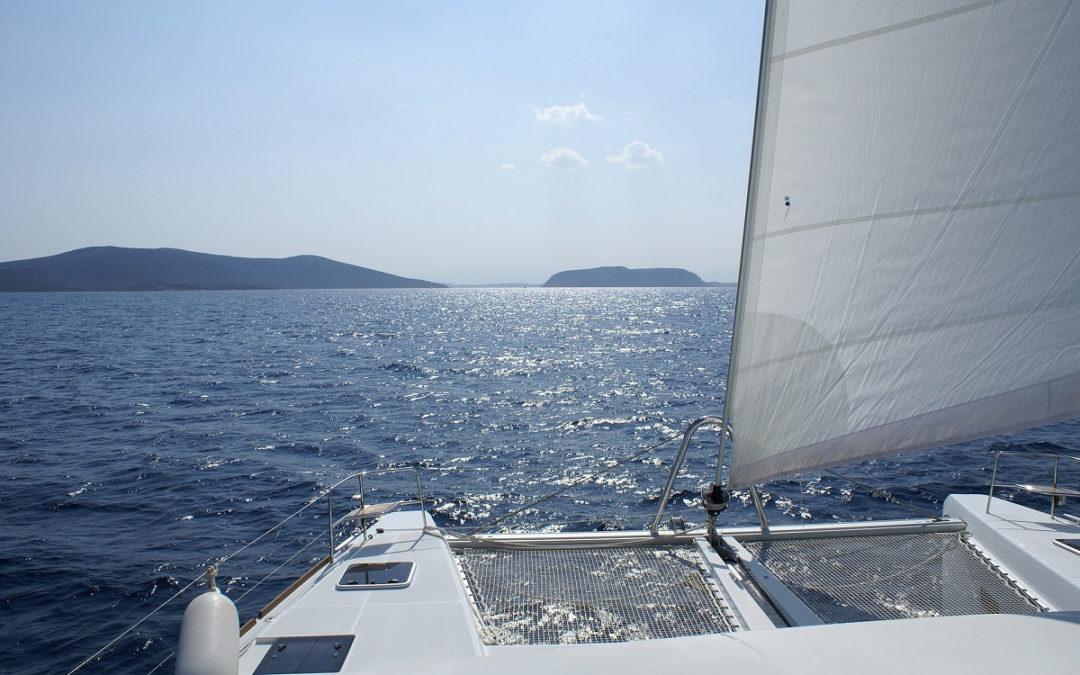 Zakelijke catamaran voor Holding-BV