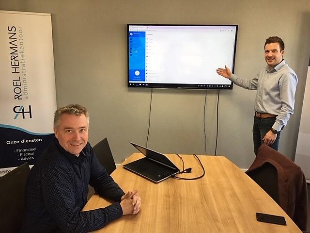 Roel Hermans Administratiekantoor en Fiscount lanceren nieuwe app.  Klant en administratiekantoor werken samen vanuit één platform!